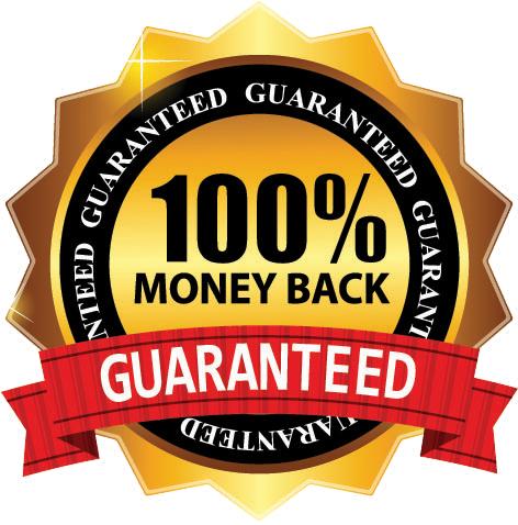 percent guaranteed culinary. 100 money back guarantee png
