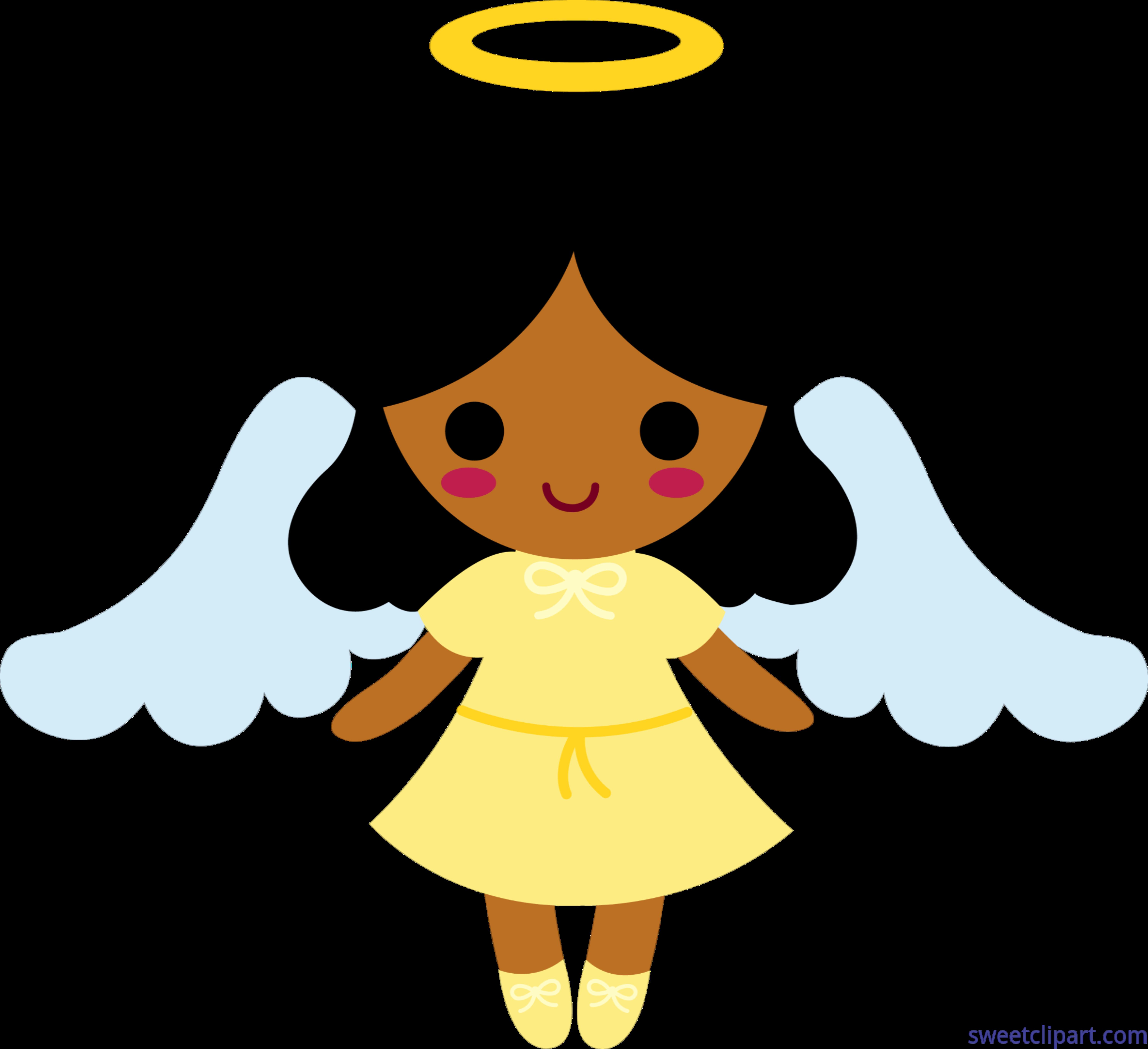 Little angel clip art. 2 clipart angels