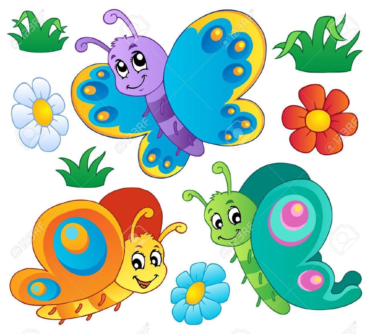 2 clipart butterfly. Butterflies clip art vergilis