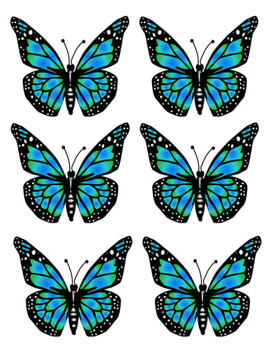 Butterflies blue free images. 5 clipart butterfly