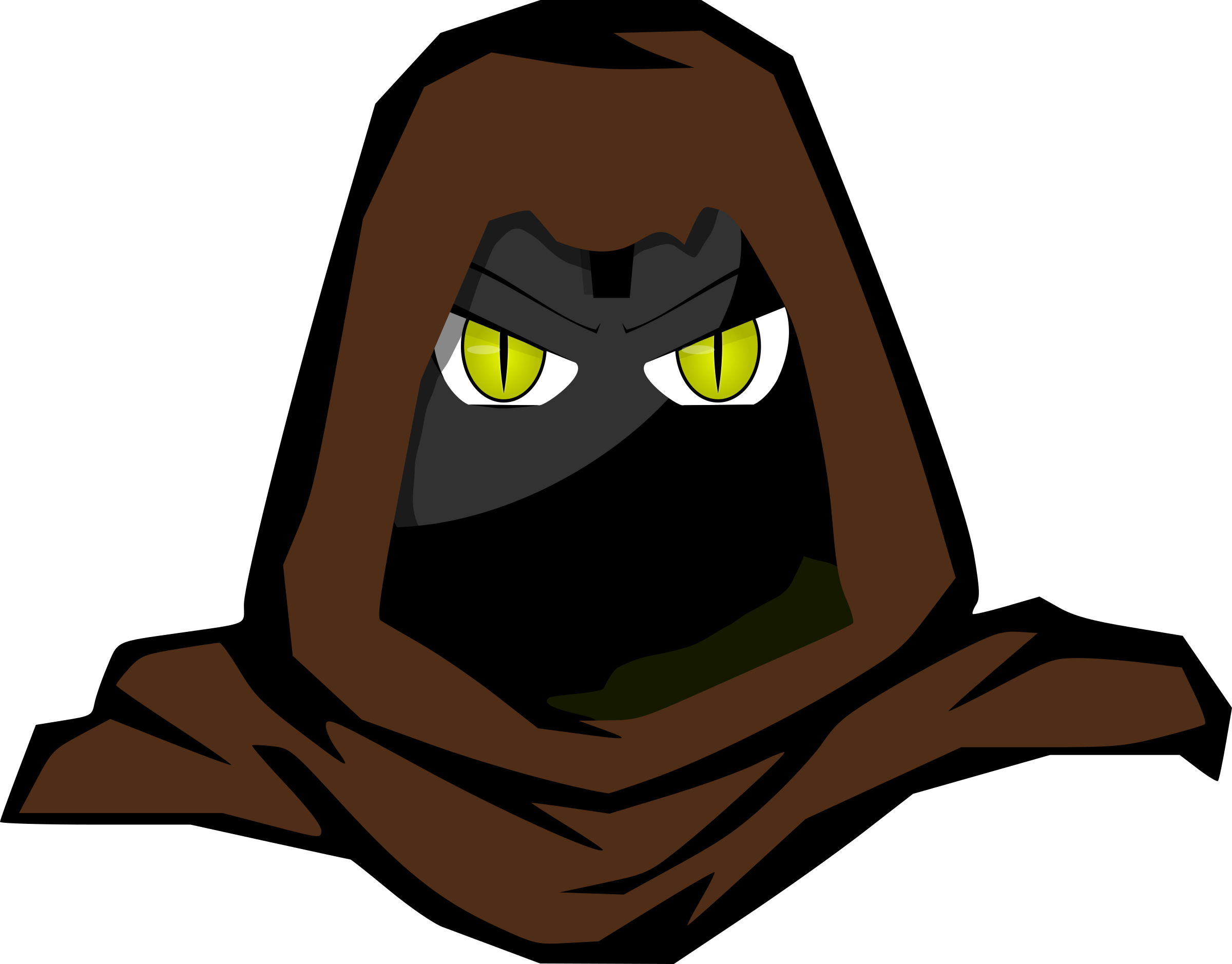 Hooded ii big image. 2 clipart cartoon character
