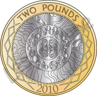 2 clipart coin. Pound pencil and in