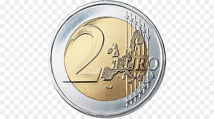 2 clipart coin.  euro commemorative coins