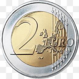 2 clipart coin. Free download euro commemorative