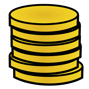 Coins clipart. Panda free images info