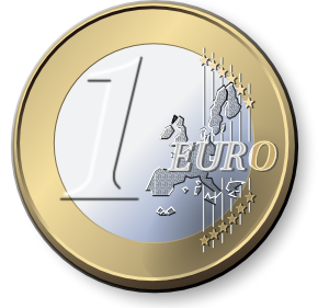One euro clip art. 2 clipart coin