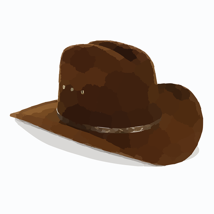 2 clipart cowboy hat. Western wear free on