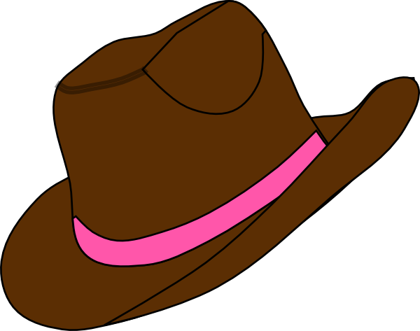 Cowgirl boots silhouette at. 2 clipart cowboy hat