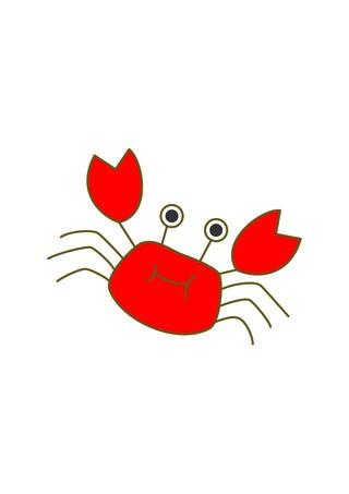 Cartoon free clip art. 2 clipart crab