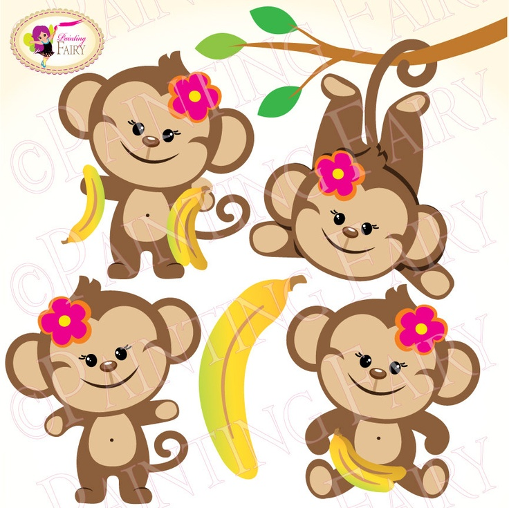 4 clipart cute.  best monitos images