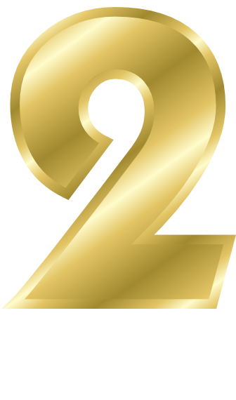 Number signs symbol alphabets. 2 clipart gold