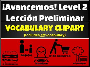 Avancemos lecci n preliminar. 2 clipart level