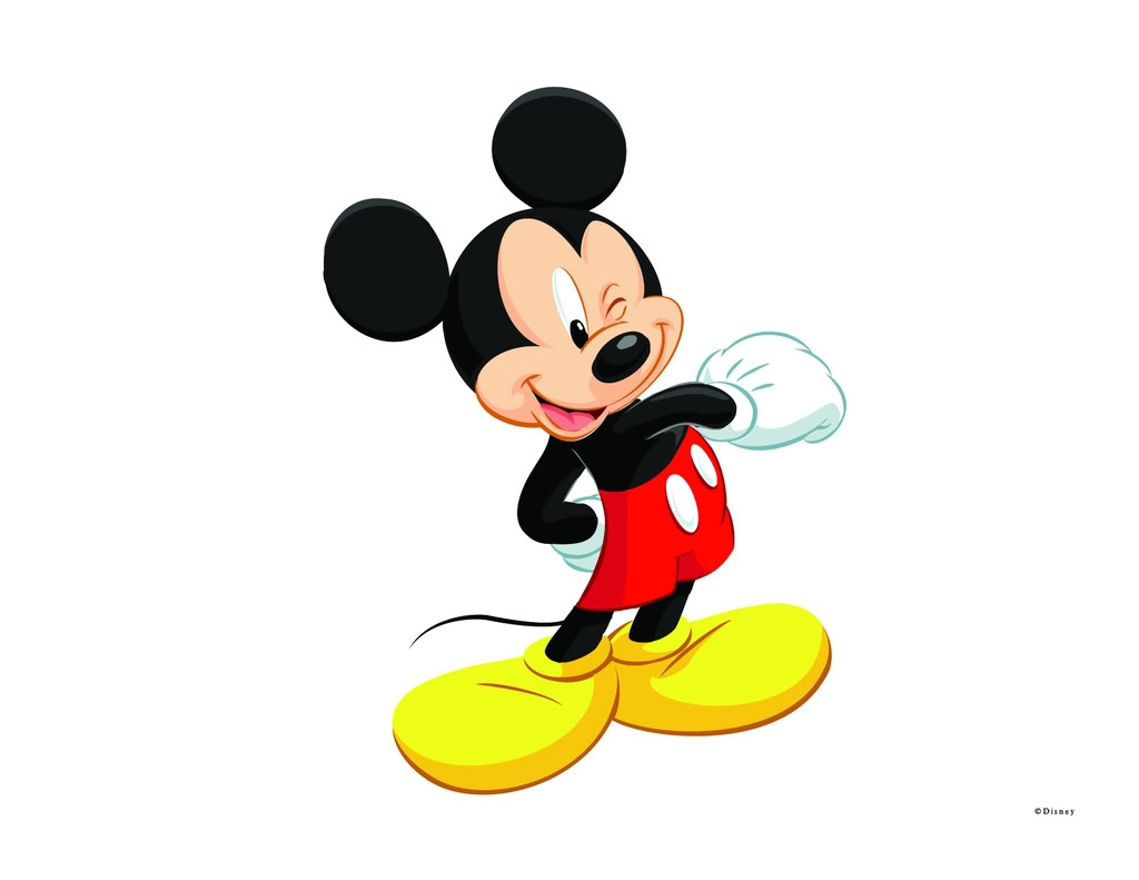 Unique collection digital coloring. 2 clipart mickey mouse