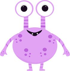 free cute monster clip art