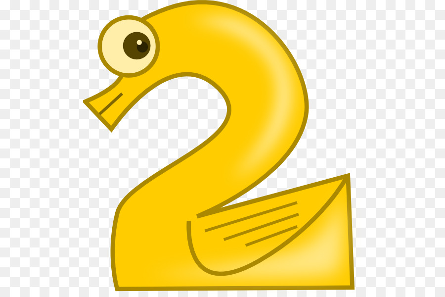 2 clipart numeral. Number sense in animals