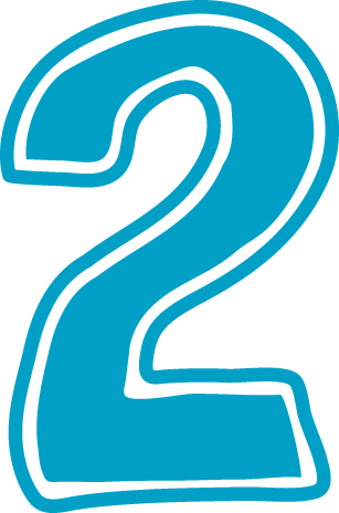 2 clipart numeral. Free birthday cliparts number