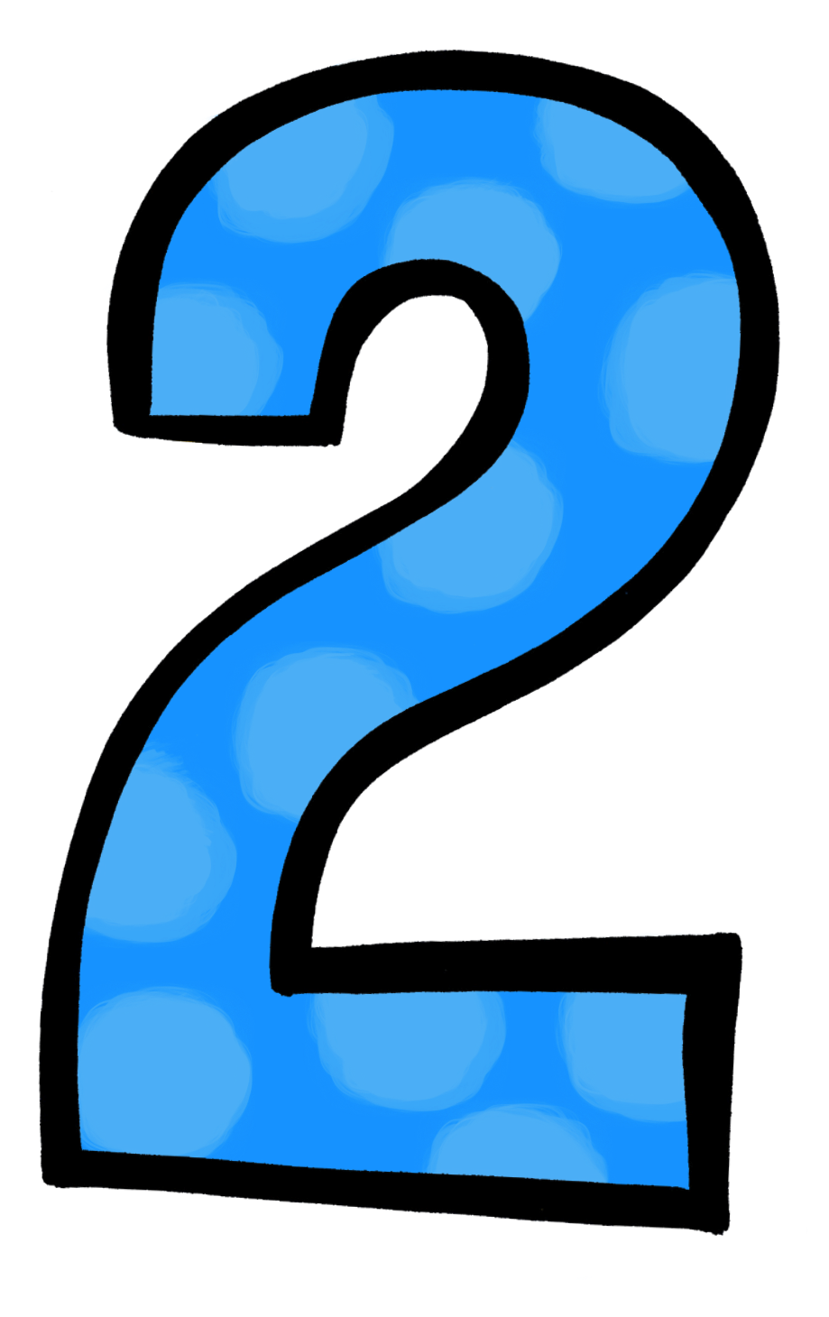 Number group free birthday. 2 clipart numeral