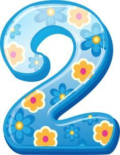 2 clipart numeral.  best number images