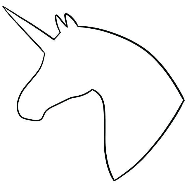 2 clipart outline. Unicorn pixel iii sapia