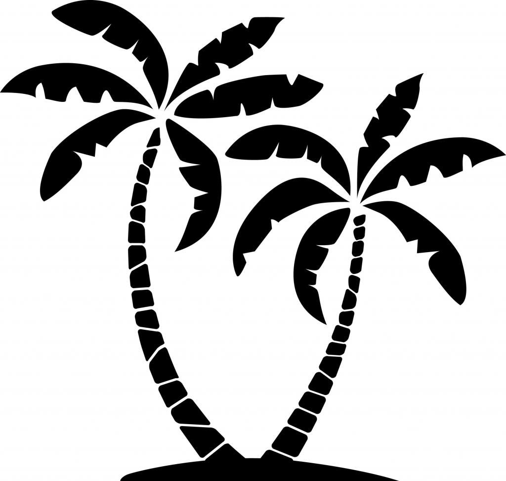 Bathroom redo clip art. 2 clipart palm tree