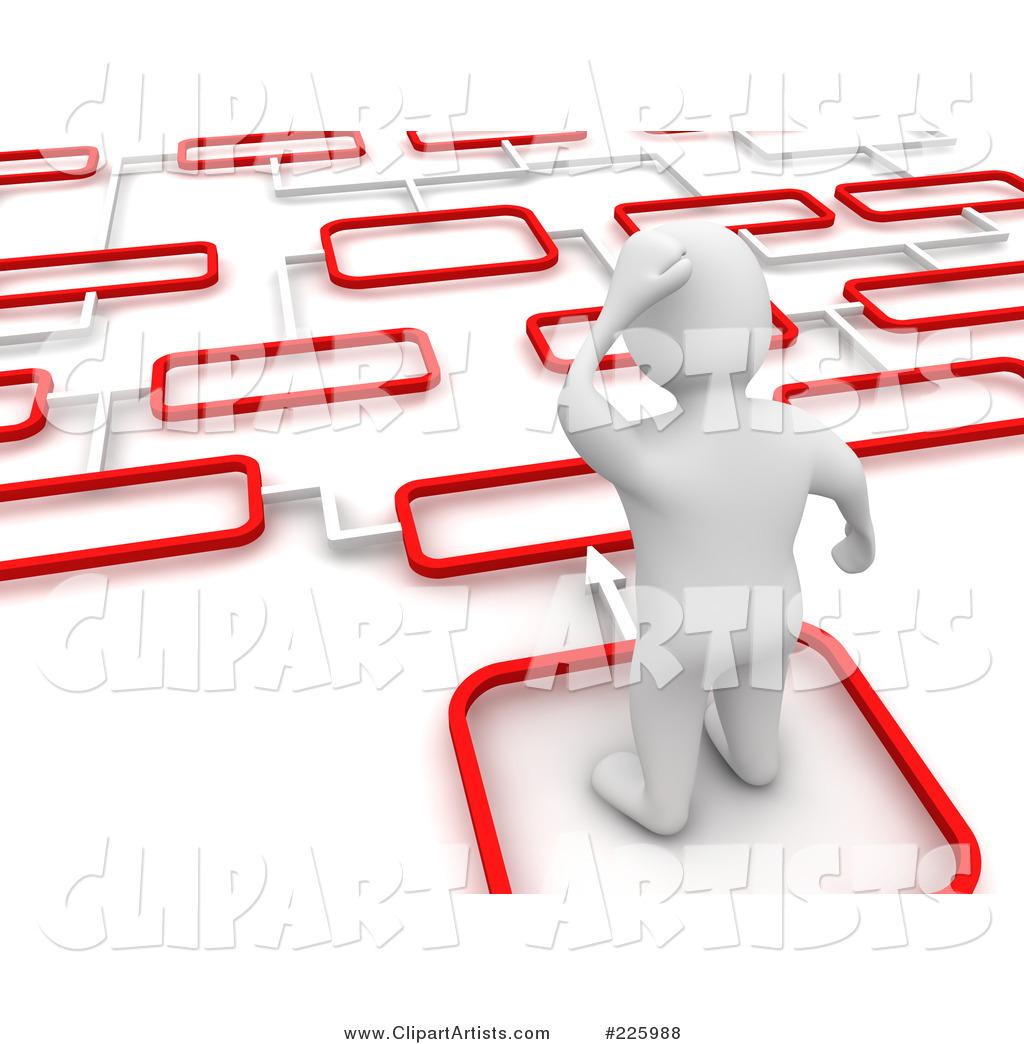 d blanco man. 2 clipart path