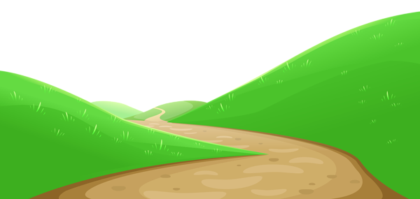 Valley with png little. 2 clipart pathway