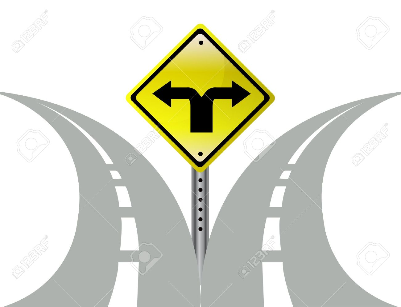 Roadway pencil and in. 2 clipart pathway