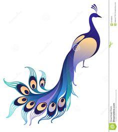 2 clipart peacock. Tavusku u vector hayvanlar