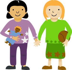 collection of two. 2 clipart person
