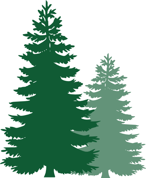 Trees clip art at. 2 clipart pine tree