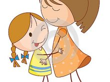 2 clipart sibling. Sister brother station free