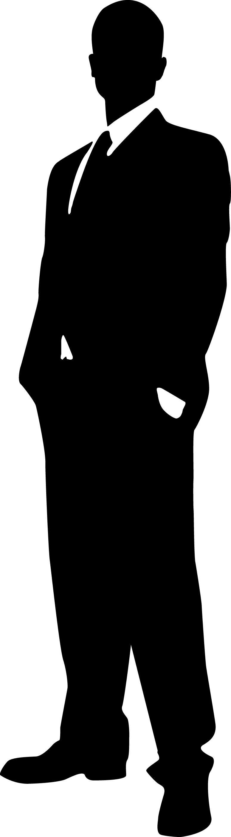 Boss clipart silhouette. Person at getdrawings com