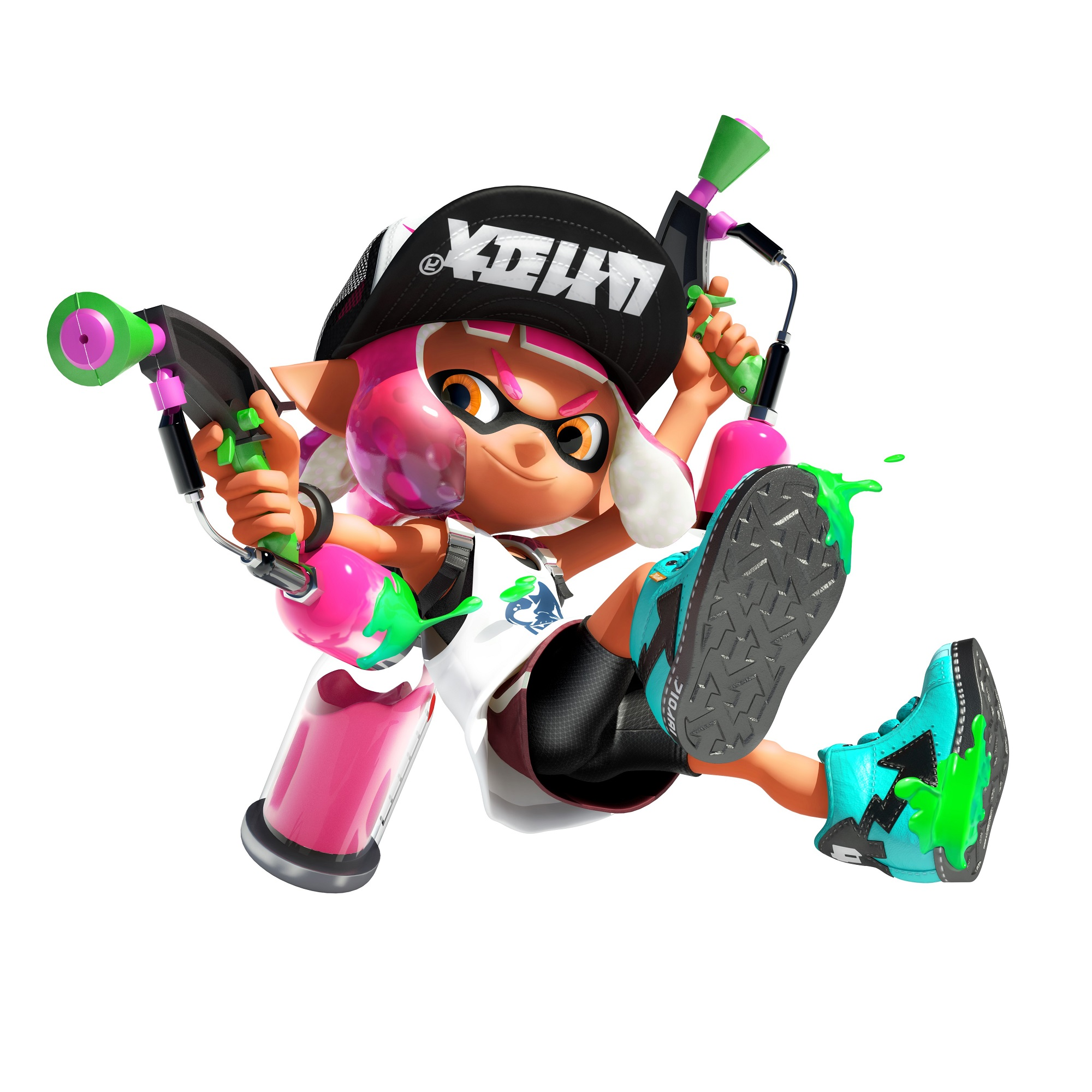 2 clipart splatoon. Announced for nintendo switch