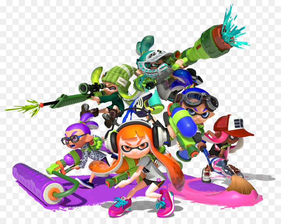 Wii u the art. 2 clipart splatoon