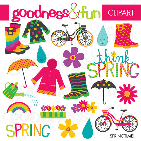 Buy get free springtime. 2 clipart spring