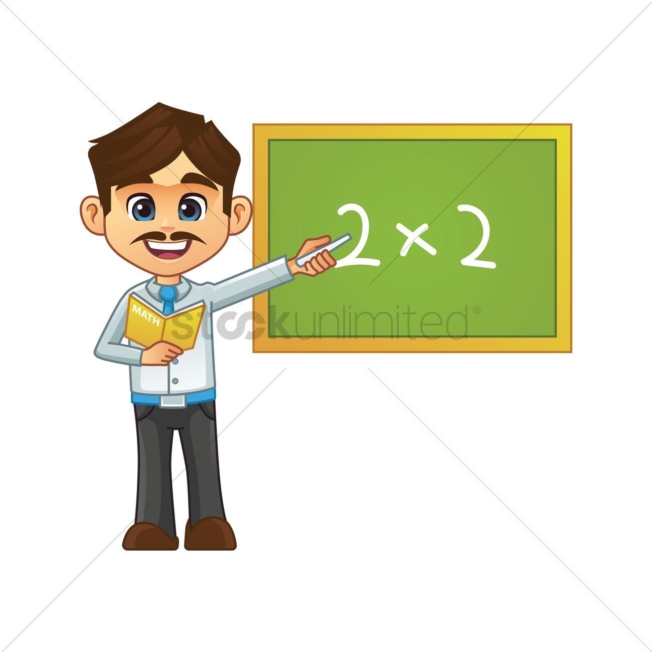 2 clipart teacher. Male station