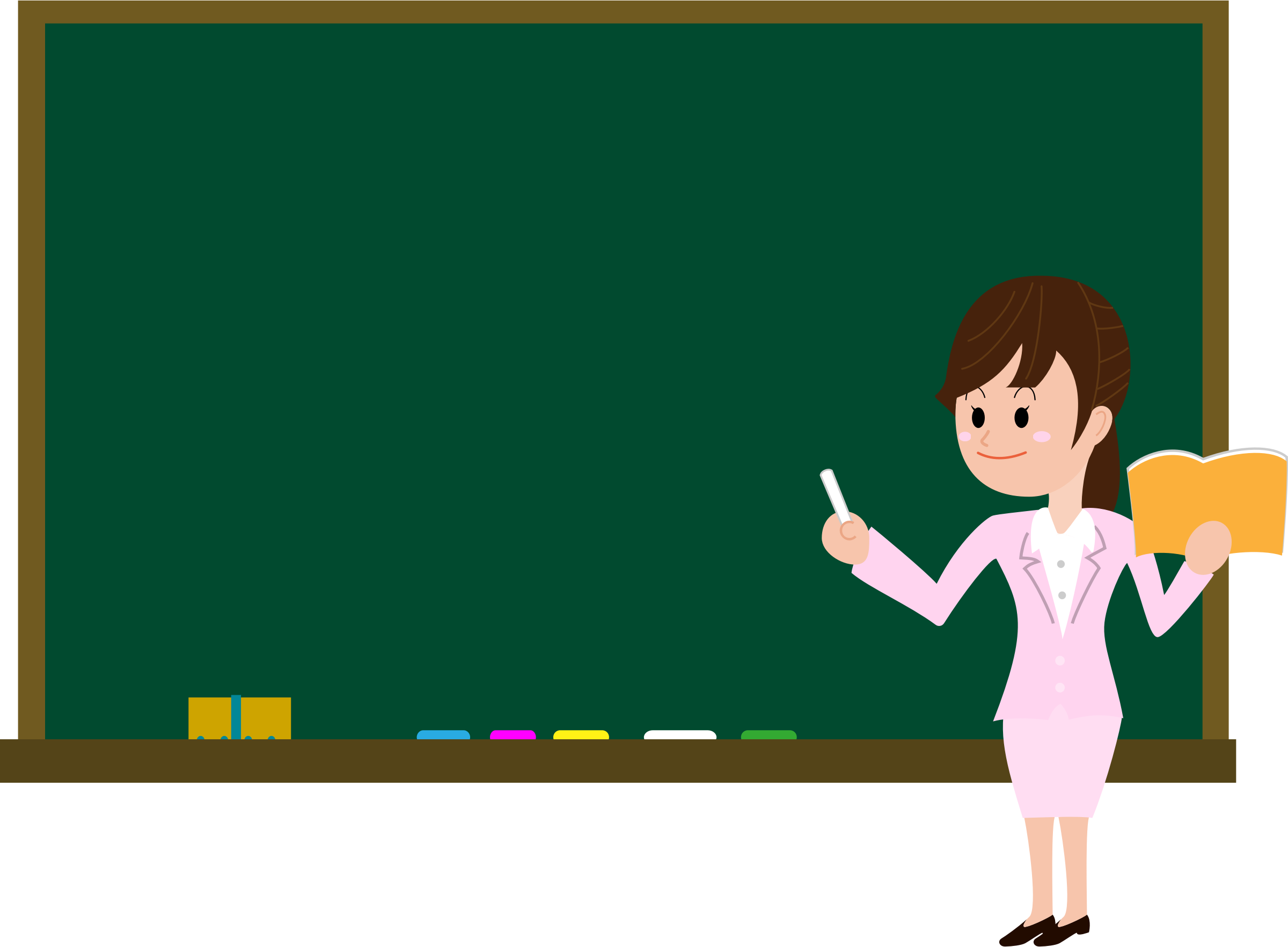 Female clipart office. Teacher big image png