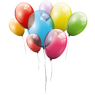 2 clipart transparent background. Balloons station