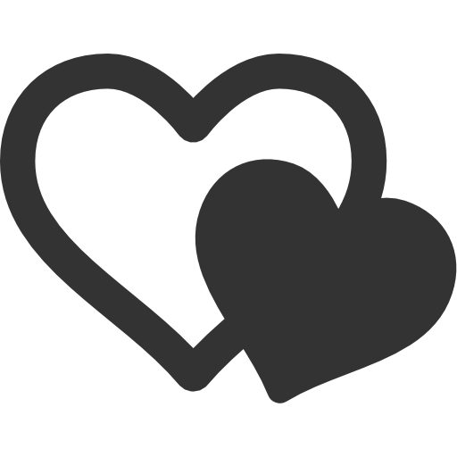 Icon page ico icns. 2 hearts png