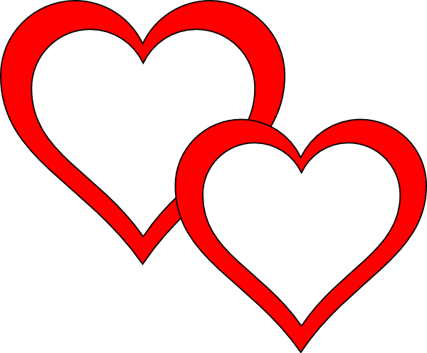 2 hearts png. Two clipart at getdrawings