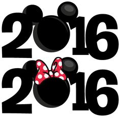 2016 clipart. Free download mickey silhouette