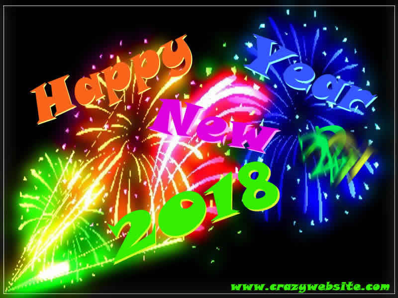 New year graphics and. 2018 clipart animated