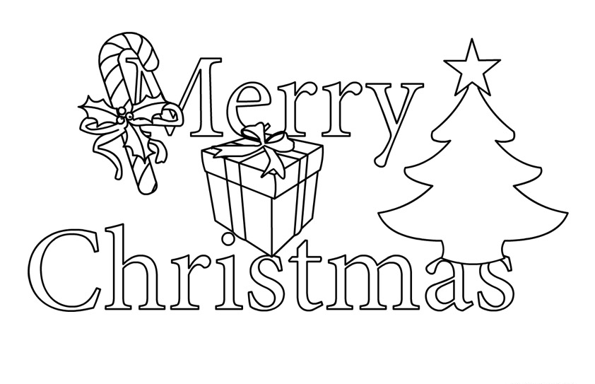 2016 clipart black and white. Merry christmas free
