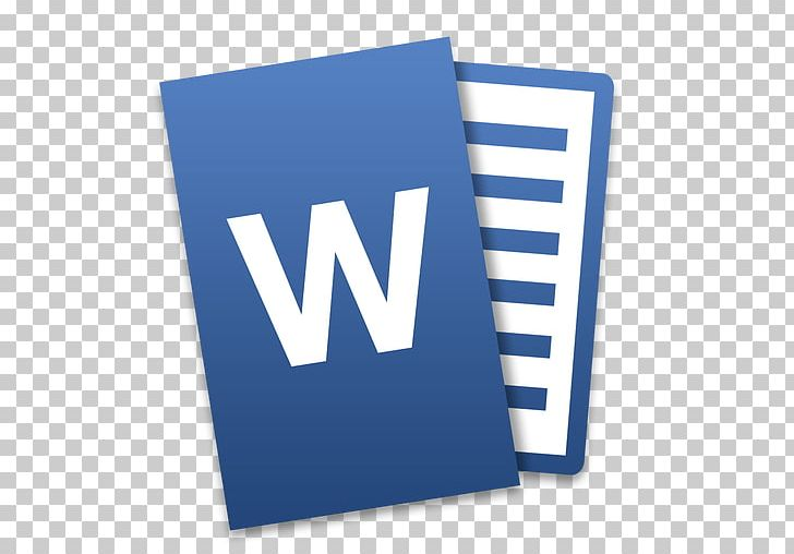 Microsoft word office . 2016 clipart blue