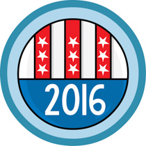 2016 clipart blue. Search results for democracy