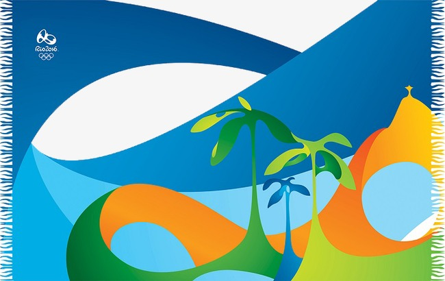 2016 clipart blue. Background rio olympics olympic