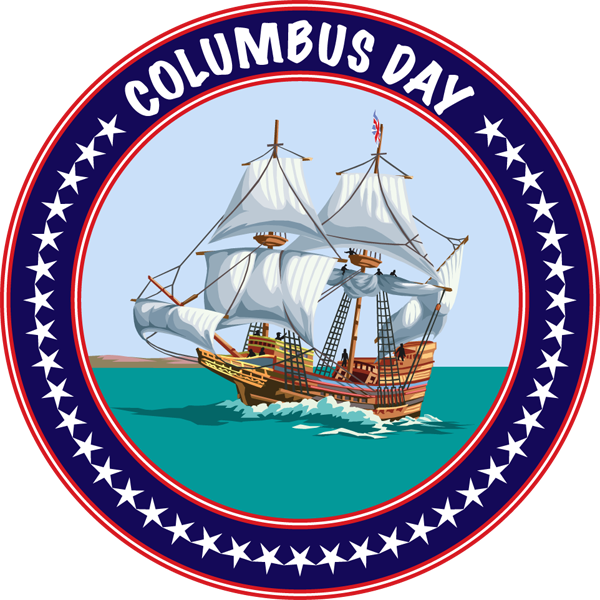 2016 clipart columbus day. Museum closed monday october