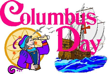 Happy images us parade. 2016 clipart columbus day