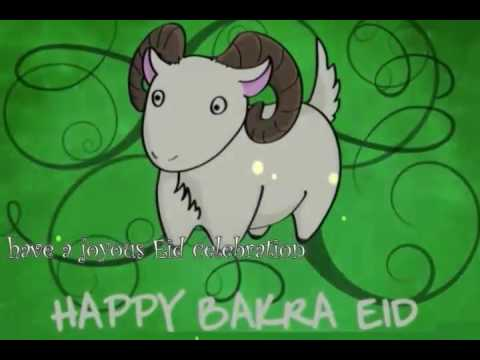 Wishes video message bakra. 2016 clipart eid ul adha