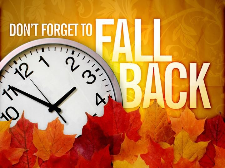 2016 clipart fall back. Time change clip art